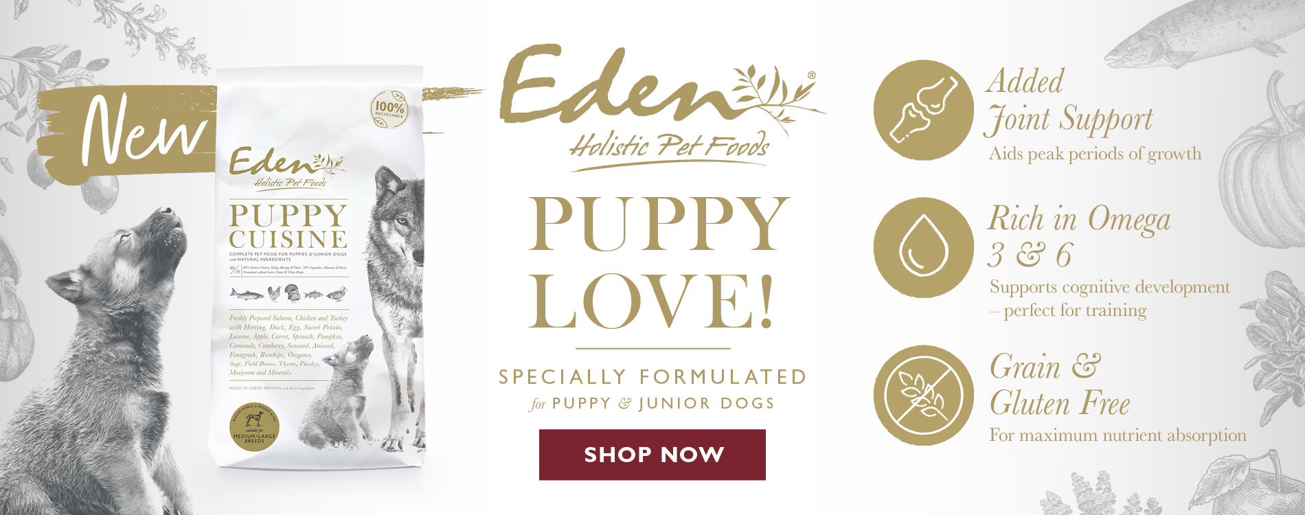 Eden Puppy Cuisine